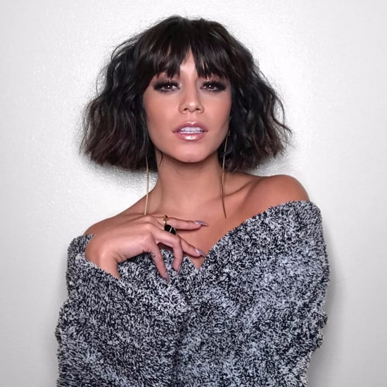 Vanessa Hudgens Bangs Haircut 2017