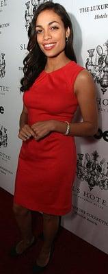 Celeb Style: Rosario Dawson