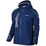 Team USA Women's Nike Navy Team USA Hyper Shield Full-Zip Jacket ($350)