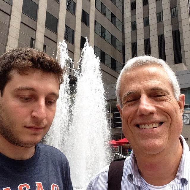 This is Steve  He's a reporter for WBBM Chicago and wanted
