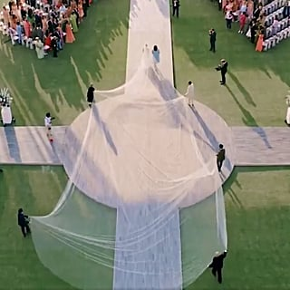 Reactions to Priyanka Chopra's Wedding Veil