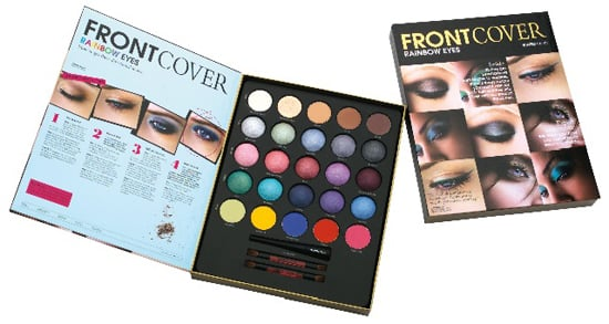 Credit Crunch Beauty Buys. Half Price Boots Front Cover Rainbow Eyes Kit. How To Get Bold Colour Catwalk Trend Autumn Winter
