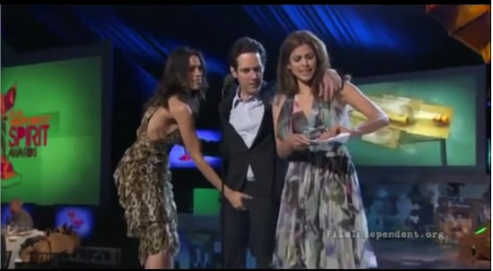Video of Rosario Dawson Grabbing Paul Rudd's Crotch