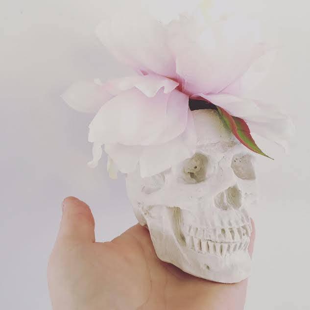 Skull Vase Pinterest Halloween Decor 2017 Popsugar Home Photo 3
