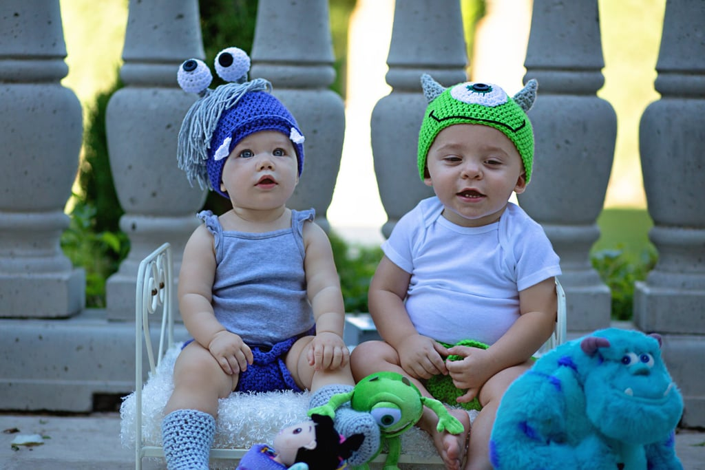 Mike Wazowski and Boo