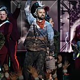 The Pictures From Justin Timberlake's Super Bowl Performance Deserve Their Own Standing Ovation