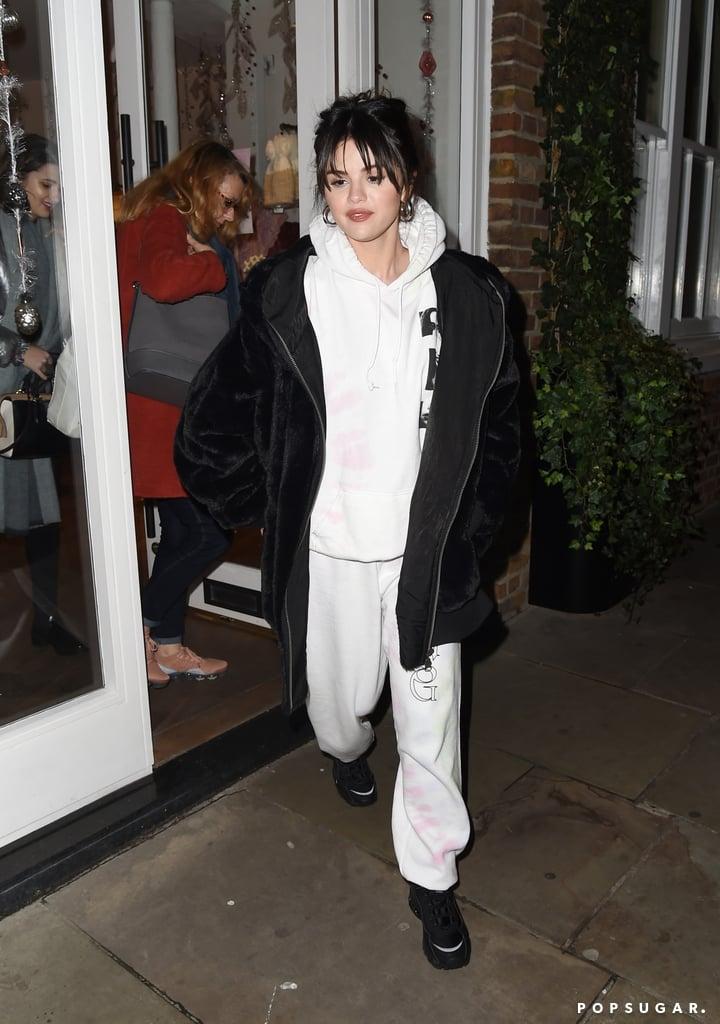 Selena Gomez Wearing New Rare Album Merch in London