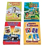 4 Assorted Kids Card Games