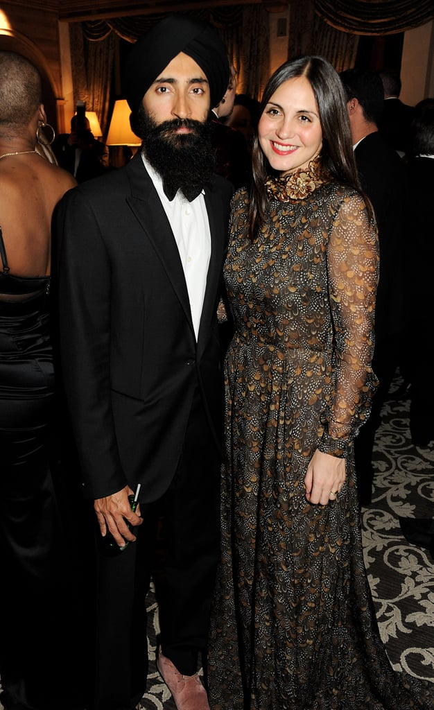 Waris Ahluwalia and Sabine Heller
