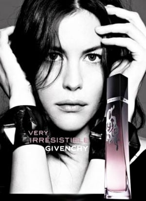 Liv Tyler for Givenchy's Latest Fragrance Vig L'Intense