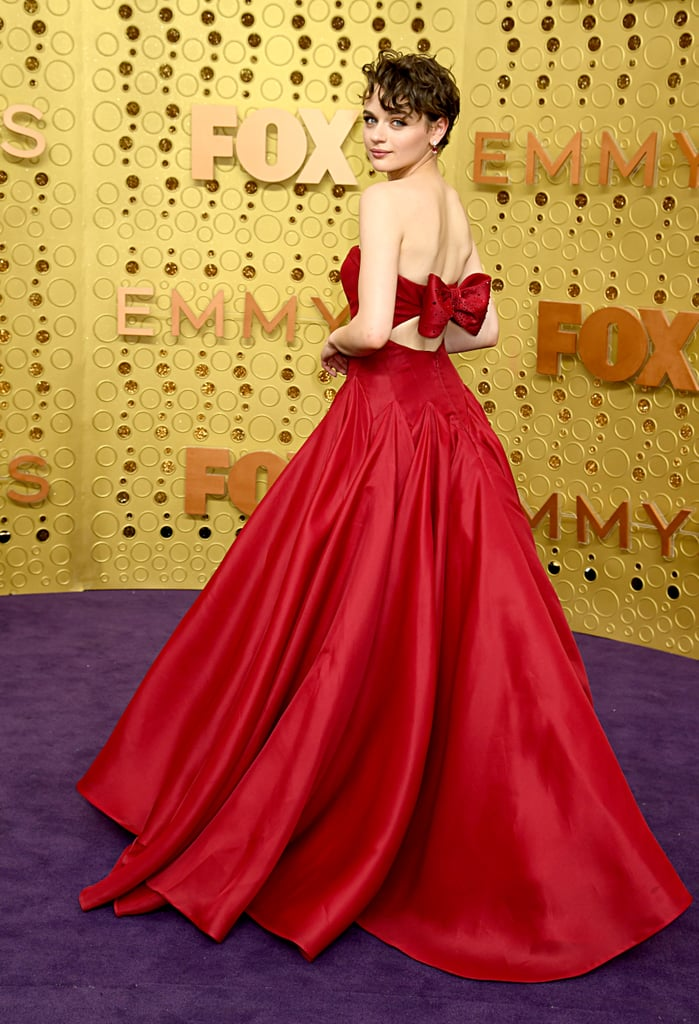 Christmas Party Dresses 2019 Uk.Joey King S Red Zac Posen Emmys Dress Came With A Bow