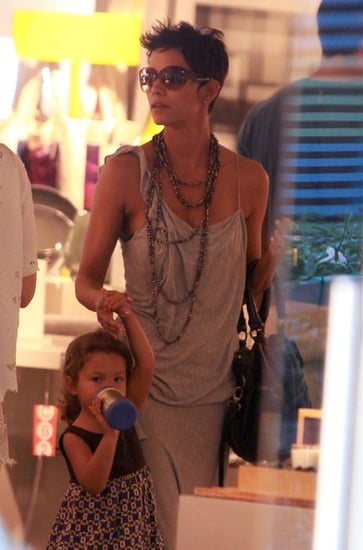 Halle Berry And Daughter Nahla Out Shopping In West Hollywood