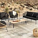 Corda Slate Gray Sofa