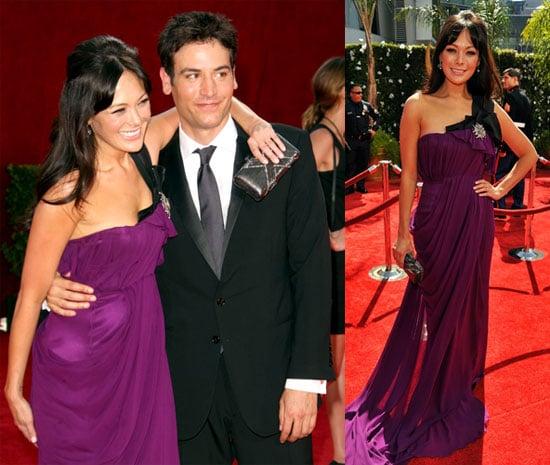Photos of Lindsay Price and Josh Radnor at 2009 Primetime Emmys