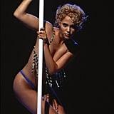Elizabeth Berkley as Nomi Malone in Showgirls, 1995
