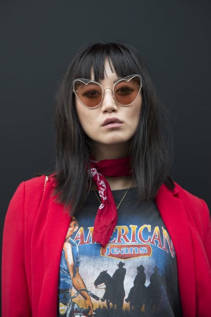 Autumn Hair Trend: a Fringe