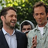 Jason Priestley and Luke Perry Have a Hot High School Reunion!