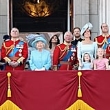 A look at how Kate stands up next to many other members of the royal family.