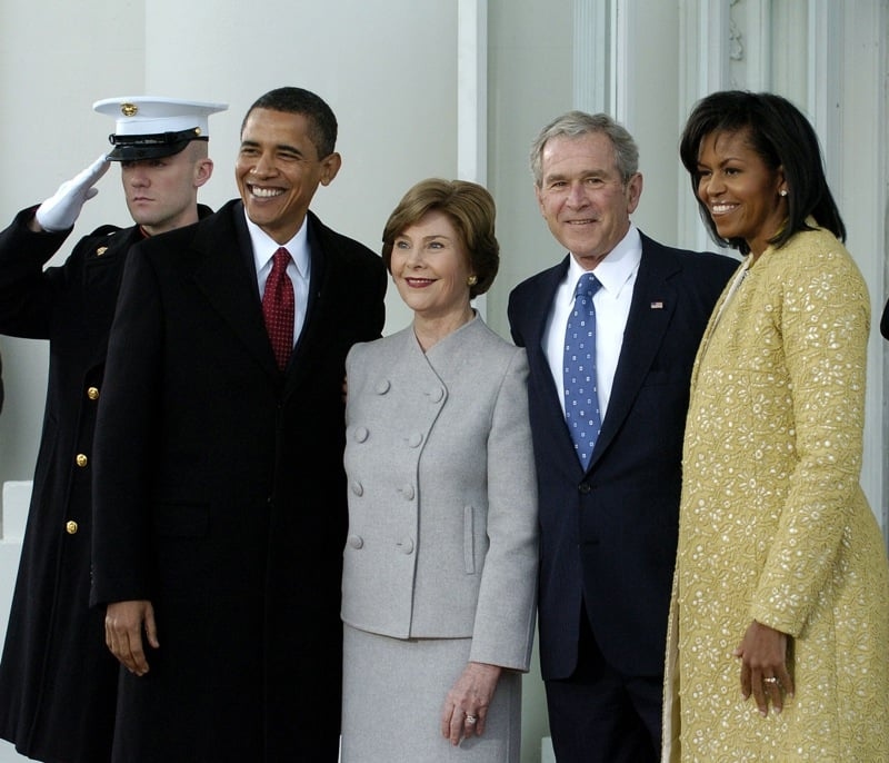 Michelle Obama In Isabel Toledo