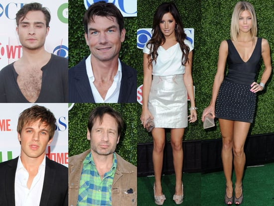 Pictures of David Duchovny, Ashley Tisdale, Matt Lanter, Ed Westwick, and More at the CBS TCA