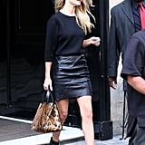 Rosie Huntington-Whiteley stepped out in Paris.