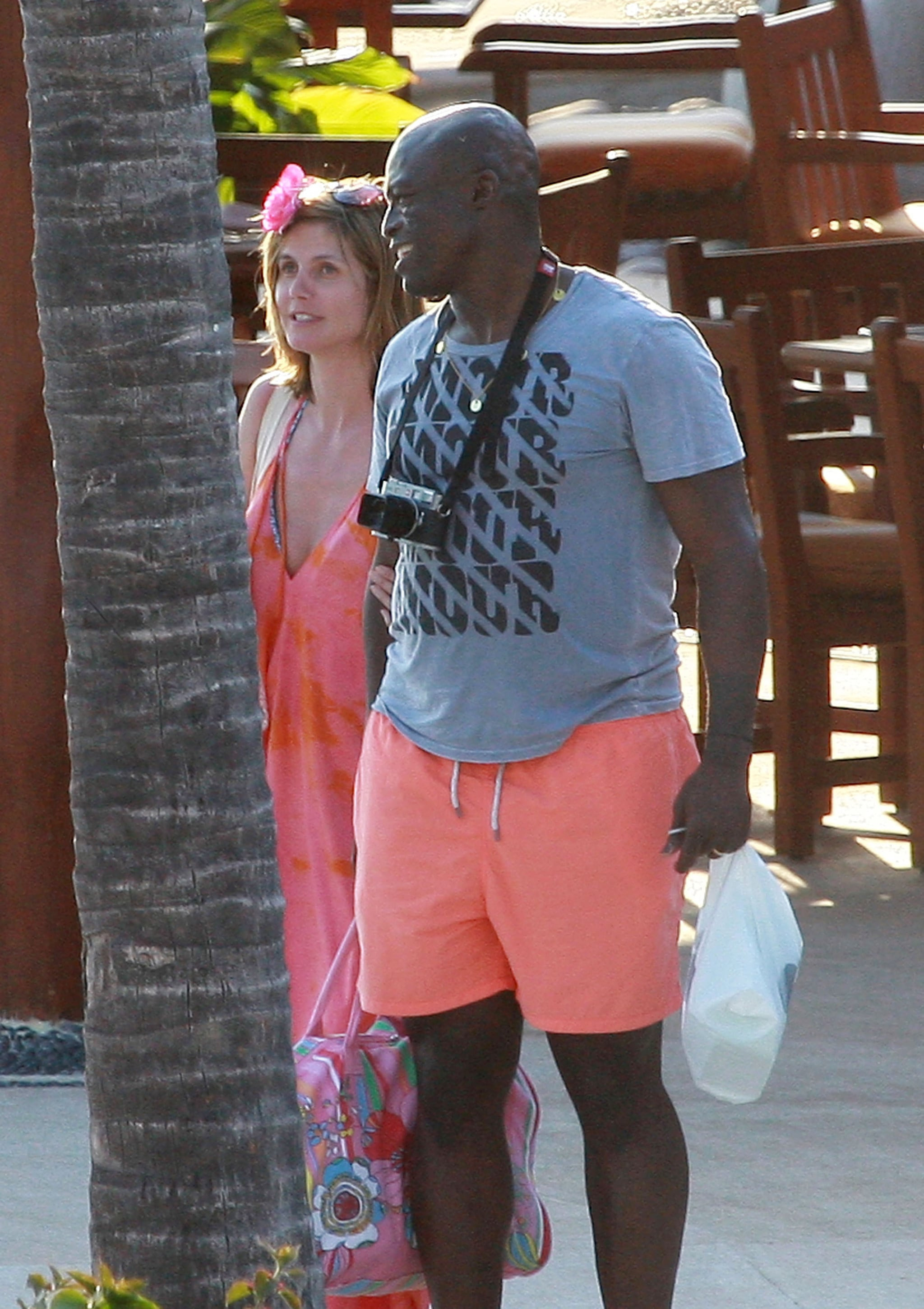 Pictures Of Heidi Klum In A Bikini With Seal For Their Wedding -3452