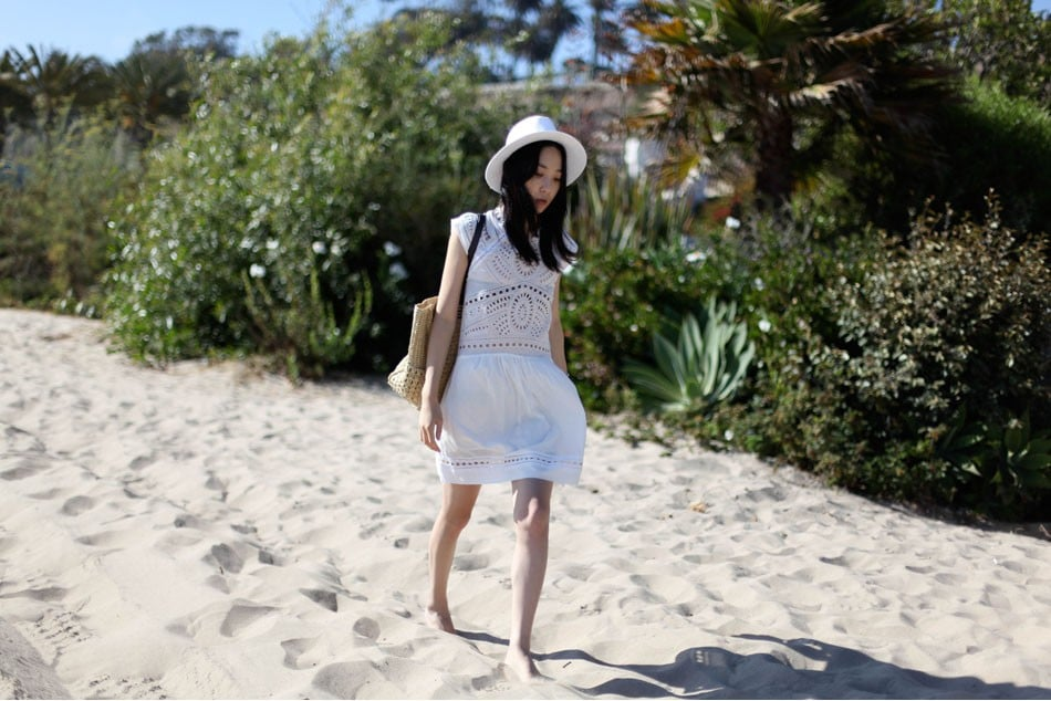 Whether you punch up this eyelet-enhanced LWD with metallic sandals and statement earrings or utilize it as a chic beach cover-up, we think it's absolutely perfect for a seaside stroll. Mikkat Market Eyelet Dress ($55)