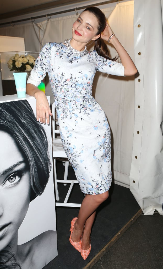 Miranda Kerr Gets the Fashion's Night Out Party Started — Early!