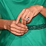 Jada Pinkett Smith's Engagement Ring at the Golden Globe Awards in 2016