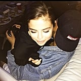 Selena Snuggled Up to The Weeknd While He Played Video Games