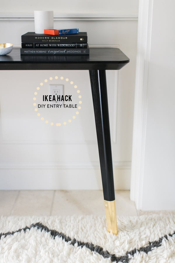 Exceptionnel DIY Entry Table Hack