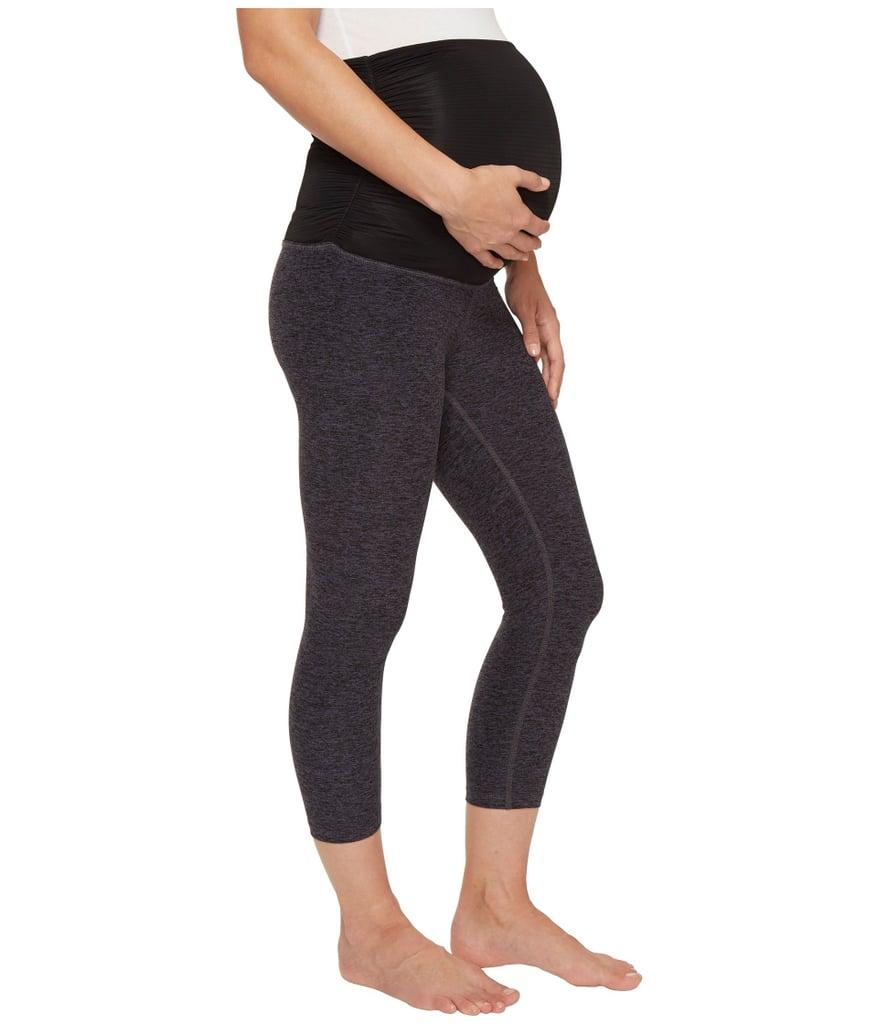 95550ef992999b Beyond Yoga Fold Down Maternity Capri Leggings   Best Maternity ...