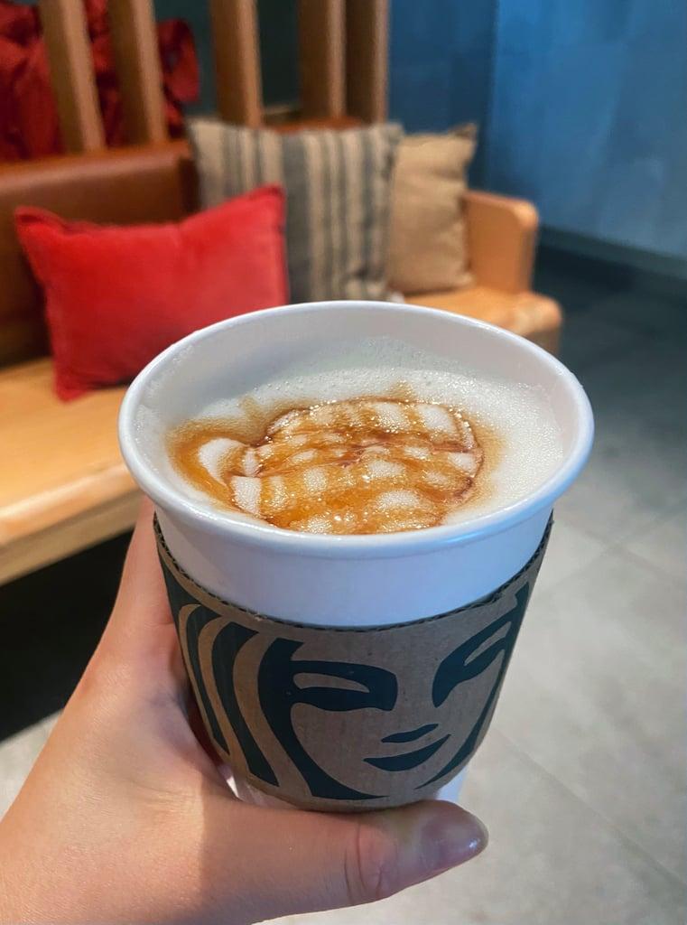 Starbucks Hot Apple Crisp Macchiato