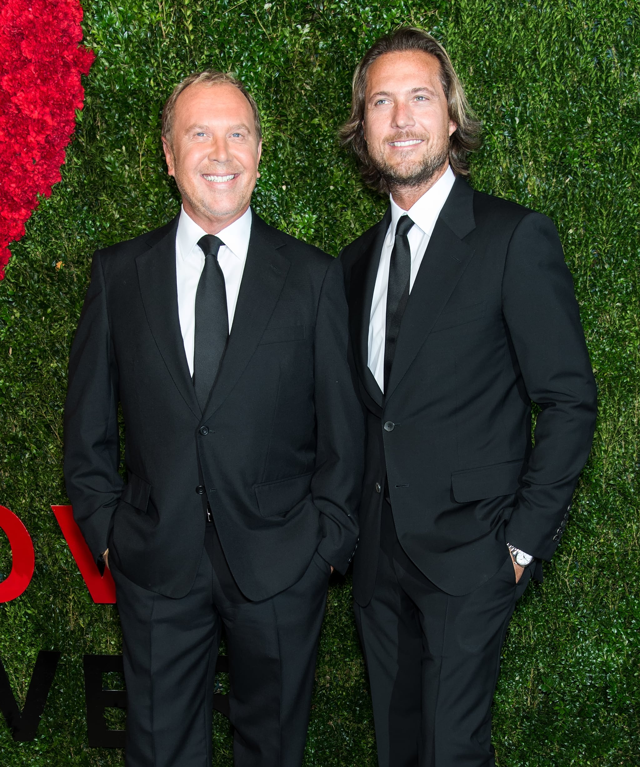Michael Kors and Lance LePere | 16 Celebrity Couples ...