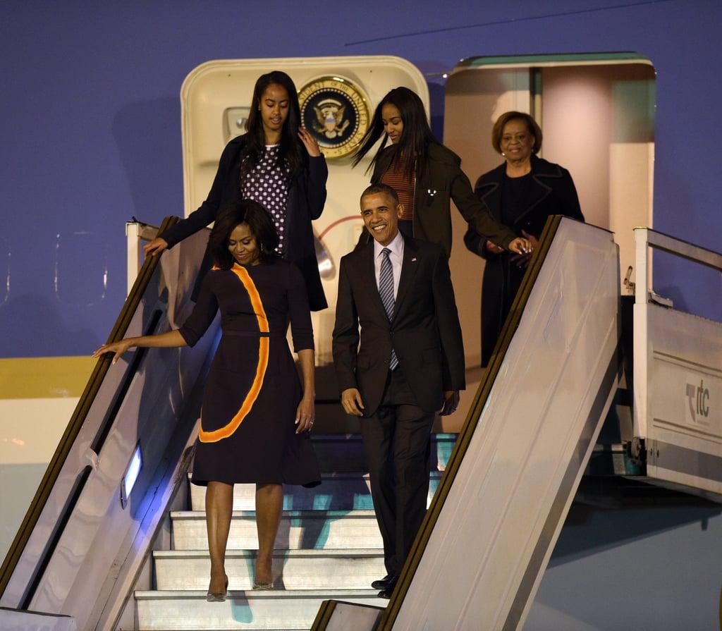 Their Arrival in Ezeiza