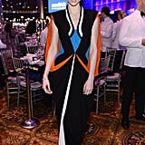Coco Rocha at amfAR's New York Gala.