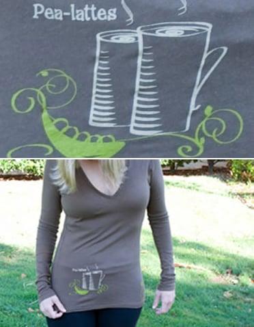 Pea-Lattes Shirt