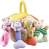 iPlay, iLearn Plush Baby Soft Rattles Set