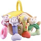 iPlay, iLearn Plush Baby Soft Rattles Set