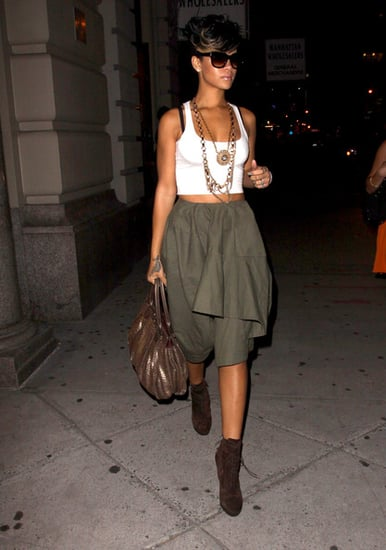 Rihanna in Manhattan