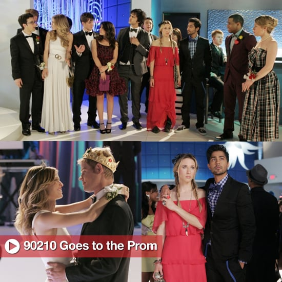 Prom dress 90210 bloopers