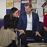 Prince Harry and Meghan Markle First Official Engagement
