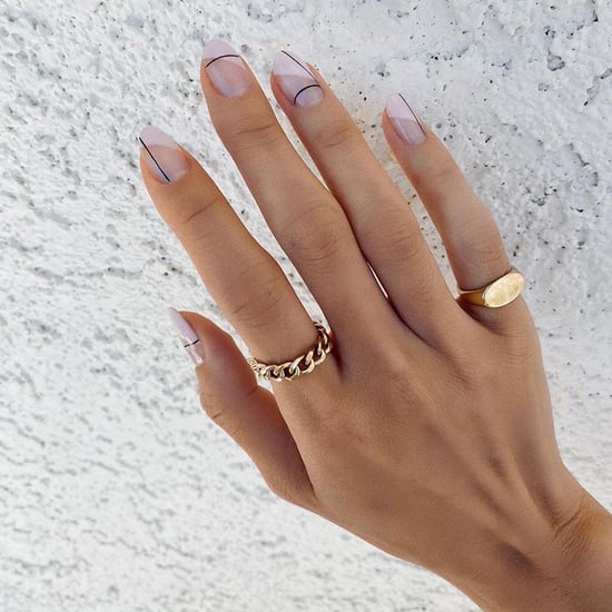 19 Nail Art Designs That Grow Out Nicely