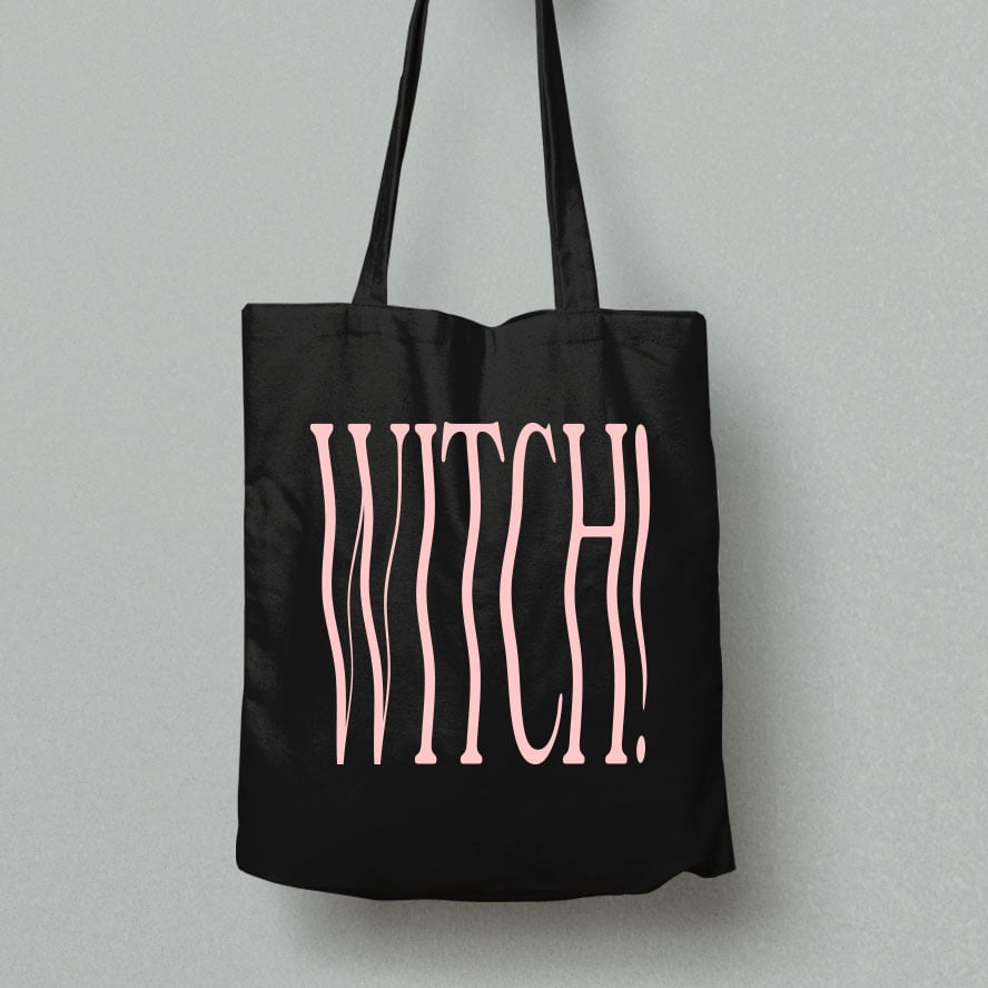 Wavy Witch Tote