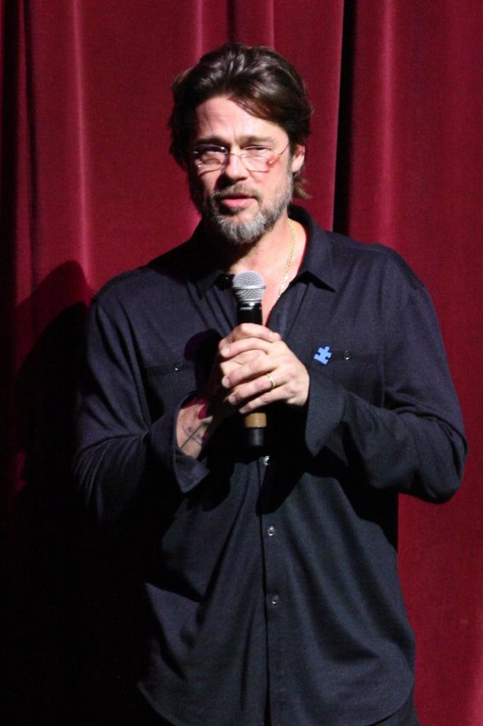 We Can All Blame Brad Pitt's Bruise on . . . Flip-Flops