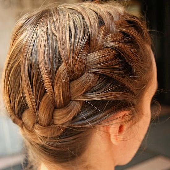 Pleasant How To Do A Side French Braid Popsugar Beauty Short Hairstyles Gunalazisus