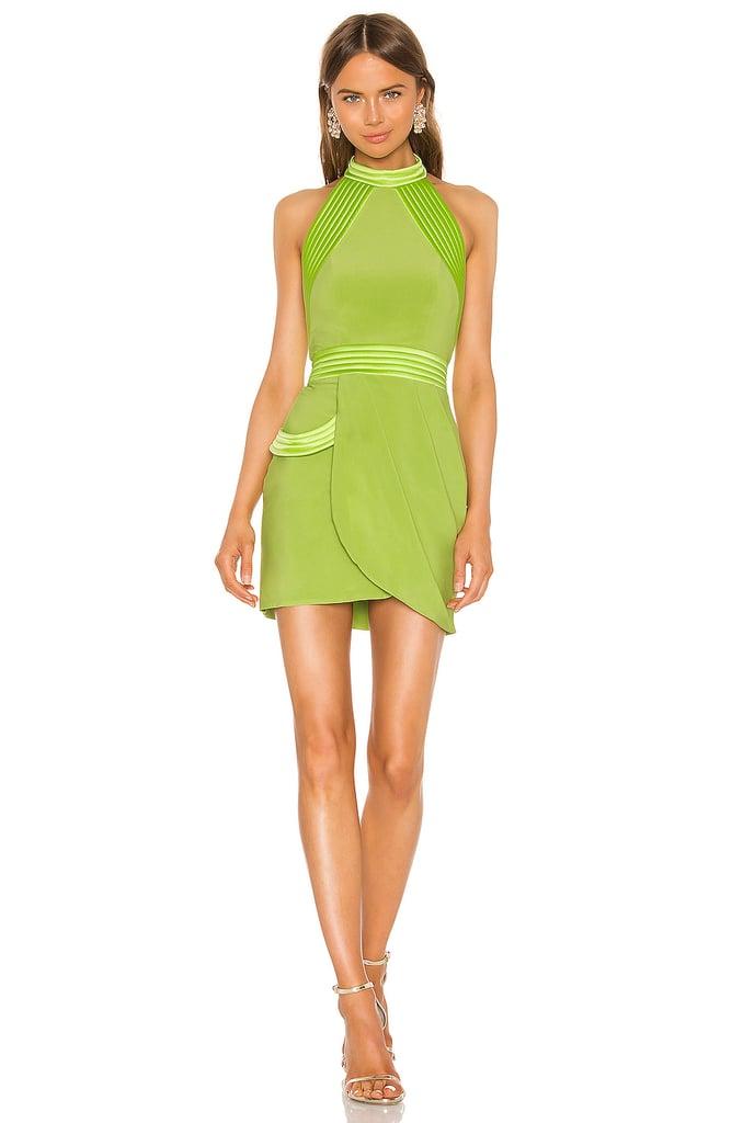 Tiana: Zhivago Algeny Lime Minidress