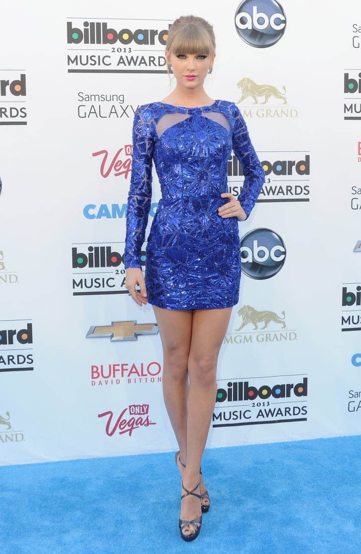 Her 2013 Billboard Music Awards Style Was All About The Blues Taylor Swift Red Carpet Style