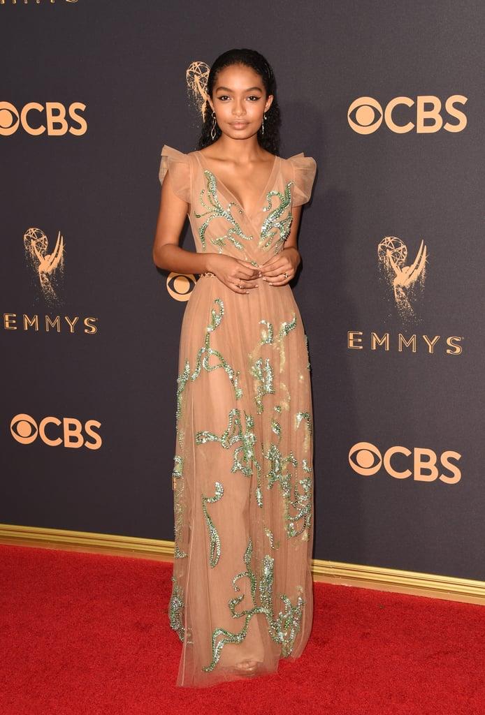 Emmys Red Carpet Dresses 2017 Popsugar Fashion Uk