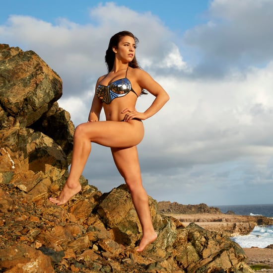Aly Raisman For Sports Illustrated Swimsuit 2018
